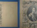 4996-Bancnota veche Russia Tarista 500 Ruble 1912.
