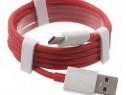 1M Cablu pentru incarcator DASH Charge 4A OnePlus 7 6T 6 5 3