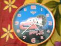 Disney Cars McQueen ceas de perete 25 cm (var. 2)