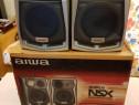 Boxe Aiwa SX-NSZ302 / 40W RMS / 6 Ohm / 3 cai