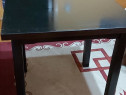 2 seturi masa lemn cu 4 scaune