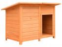Cușcă de câine, 120 x 77 x 86 cm, lemn 170641
