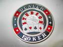 9168-I-Moneda Card Guard Studson Poker metal argintat email.