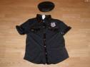 Costum carnaval serbare bluza politista pentru adulti L