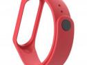 Curea Bratara Silicon Fitness Xiaomi Mi Band 3/4 RED