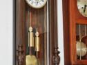 Ceas de perete cu pendula si 2 greutati Gustav Becker