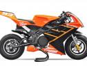Motocicleta electrica Pocketbike NITRO TRIBO 1060W #Orange