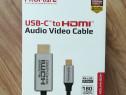 Cablu hdmi - usb type-c promate hdlink-60h, 1.8m