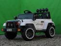 Masinuta electrică pentru copii Jeep BRD-7588 2x35W 12V #Alb