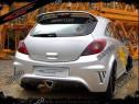 Prelungire Bara spate Opel Corsa D OPC VXR Look 2006-2014 v1