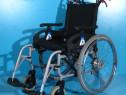 Scaun cu rotile din aluminiu Minos / latime sezut 47 cm