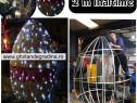 Iluminat Festiv Paste,Ou Gigant 2 m,3 D,decoratiuni primarii