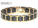 Brăţară Magnetică Energetică Tungsten și INOX - cod BRA051