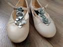 Balerini/pantofi piele Musette Christhelen - masura 25 14.5