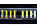 Proiector LED 24W 30° 12-24V lumina alba + portocalie, stro