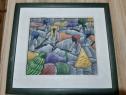 Tablou pictat, artă africană