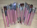Set 18 pensule machiaj, zenifique, par sintetic