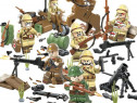 Set 8 Minifigurine noi tip Lego World War 2 - Heroes