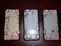Husa+Folie ecran iPhone 6 6S 6 Plus margini electroplacate