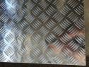 Tabla aluminiu striata 1000x2000mm Quintet Diamond Stucco