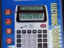 CALCULATOR cu 2 afisaje mari 12 cifre si detector bani falsi