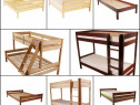 Pat din lemn masiv, etajat, dublu sau simplu; noi, Zalau