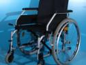 Scaun cu rotile fara suporti de picioare B+B / sezut 48 cm