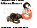Macara Scripete Troliu Palan Manual 2000 kg Lant 3 Metri