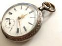Ceas de Buzunar din Argint - mecanic