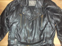 Geaca moto vintage,chopper,rock motocycle company ,50