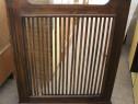 Masca de calorifer vintage lemn masiv 1,16 cm