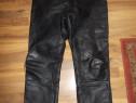 Pantaloni TAKAI moto sau strada,din piele naturala,clasic