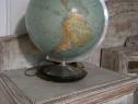 Glob pamantesc vechi din sticla, iluminat Columbus Duo