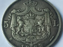 Moneda de 5 Lei 1883