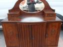 Servanta vintage cu oglinda; Comoda cu 3 usi si sertare; Toa