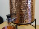Rezervor / Recipient 5 L din cupru cu stand si pahar