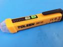 Detector de tensiune fara contact, cat 3, 12-1000 v tolsen