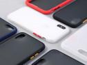 Iphone 7 8 7+ 8+ SE 2020 X XS XR XS MAX Husa Hybrid Neagra