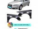 Aripa fata Audi A6 C6 VOPSITA Negru/Albastru/Argintiu/Alb