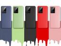 Husa X LEVEL Silicon Catifea Interior Samsung NOTE 20 ULTRA