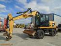 Excavator pe pneuri Caterpillar M313D