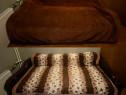 Pătură plușată , groasă pentru pat dublu