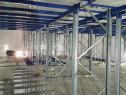Platforma pe sistem de rafturi metalice