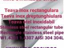 Teava inox rectangulara 100x50x3 Teava aluminiu inox alama