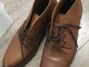 Ghete Tommy Hilfiger, pantofi barbati piele maro