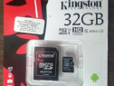Card de memorie Kingston MicroSDHC, 32GB, Class 10 + Adaptor