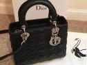 Geantă Christian Dior model Lady import Franța