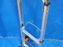 Liza pliabila (carucior) cu platforma 90 kg, aluminiu