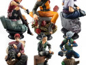 Set 6x figurine miniaturi Naruto Shippuden Akatsuki Sasuke