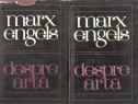 Marx Engels-Despre Arta 2 vol.